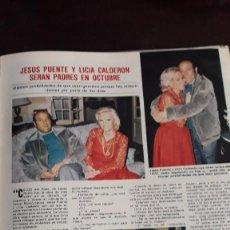 Coleccionismo de Revistas y Periódicos: JESUS PUENTE LICIA CALDERON . Lote 124681435