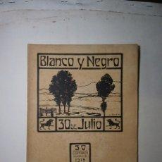 Collezionismo di Riviste e Giornali: REVISTA BLANCO Y NEGRO JULIO DE 1916 NÚMERO 1315. Lote 124710767