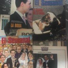 Coleccionismo de Revistas y Periódicos: LOTE REVISTAS Y PERIÓDICOS BODA INFANTA ELENA . Lote 124808931