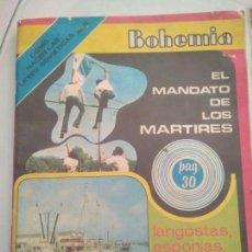 Coleccionismo de Revistas y Periódicos: REVISTA BOHEMIA DE LA CUBA DE HOY.1976 FOTOS ENRIQUE CASTRO.PARQUE LENIN.VER FOTOS. Lote 124823460
