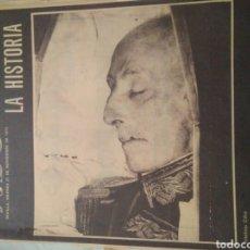 Coleccionismo de Revistas y Periódicos: VIVO EN LA HISTORIA ABC 21 NOVIEMBRE 1975 LA MUERTE DE FRANCO.MI ULTIMO VERSO. Lote 124831679