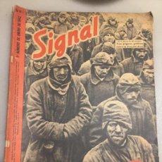 Coleccionismo de Revistas y Periódicos: ANTIGUA REVISTA SIGNAL TROPAS DE RESERVA ALEMANIA II GUERRA MUNDIAL AÑO 1941 . Lote 124856739