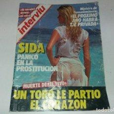 Coleccionismo de Revistas y Periódicos: ANTIGUA REVISTA AÑO 1985 INTERVIÚ N° 486. Lote 125000435
