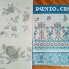Coleccionismo de Revistas y Periódicos: PUNTO DE CRUZ Y PESPUNTE. Nº 3. EDICIONES C. Y S.. Lote 125066827
