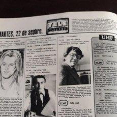 Coleccionismo de Revistas y Periódicos: CHARLENE TILTON VICTORIA PRINCIPAL LALO AZCONA ALFREDO AMESTOY MARIA OSTIZ. Lote 125068543