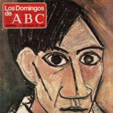 Coleccionismo de Revistas y Periódicos: 1980. PICASSO EN NUEVA YORK. JOSÉ LUIS BALBIN. LA FUNDACIÓN DEL PCE. RAPHAEL. VER SUMARIO.... Lote 125106723
