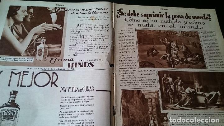Coleccionismo de Revistas y Periódicos: REVISTA GRÁFICA ESTAMPA 19 MARZO 1932 AÑO 5 NUM 219 LO QUE SEGUIMOS LLAMANDO SEXO DEBIL - REPÚBLICA - Foto 2 - 125152439