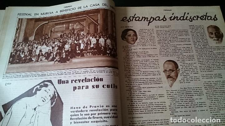 Coleccionismo de Revistas y Periódicos: REVISTA GRÁFICA ESTAMPA 19 MARZO 1932 AÑO 5 NUM 219 LO QUE SEGUIMOS LLAMANDO SEXO DEBIL - REPÚBLICA - Foto 3 - 125152439