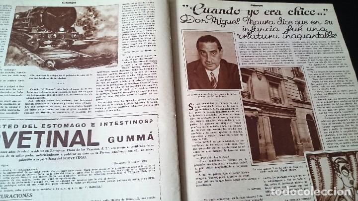 Coleccionismo de Revistas y Periódicos: REVISTA GRÁFICA ESTAMPA 19 MARZO 1932 AÑO 5 NUM 219 LO QUE SEGUIMOS LLAMANDO SEXO DEBIL - REPÚBLICA - Foto 6 - 125152439