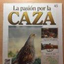 Coleccionismo de Revistas y Periódicos: 045 LA PASION POR LA CAZA - PLANETA DE AGOSTINI - 1993. Lote 125166891