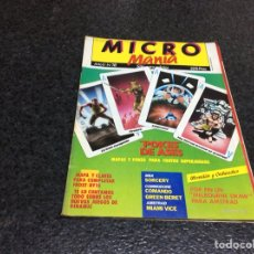 Coleccionismo de Revistas y Periódicos: MICRO MANIA (MICROMANIA) 1ª EPOCA Nº 18 AMSTRAD, MSX, SPECTRUM, COMMODORE. Lote 125198123