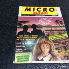 Coleccionismo de Revistas y Periódicos: MICRO MANIA (MICROMANIA) 1ª EPOCA Nº 17 AMSTRAD, MSX, SPECTRUM, COMMODORE. Lote 125198203