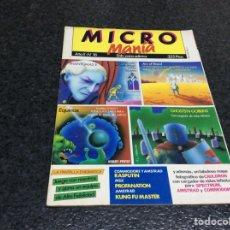 Coleccionismo de Revistas y Periódicos: MICRO MANIA (MICROMANIA) 1ª EPOCA Nº 16 AMSTRAD, MSX, SPECTRUM, COMMODORE. Lote 125198323
