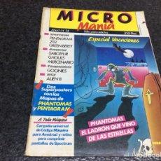 Coleccionismo de Revistas y Periódicos: MICRO MANIA (MICROMANIA) 1ª EPOCA Nº 14 SUPER POSTER CON MAPAS PHANTOMAS Y PENTAGRAM. Lote 125198579