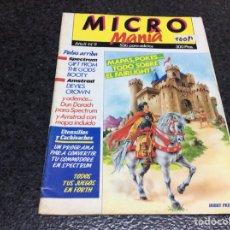 Coleccionismo de Revistas y Periódicos: MICRO MANIA (MICROMANIA) 1ª EPOCA Nº 9 AMSTRAD, MSX, SPECTRUM, COMMODORE. Lote 125198715