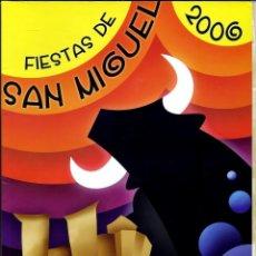 Coleccionismo de Revistas y Periódicos: REVISTA MORA DE RUBIELOS FIESTAS DE SAN MIGUEL 2006. Lote 125205699