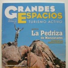 Coleccionismo de Revistas y Periódicos: REVISTA GRANDES ESPACIOS. REVISTA DE TURISMO ACTIVO. Nº 180 SEP. 2012. Lote 125207339