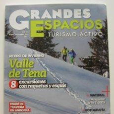 Coleccionismo de Revistas y Periódicos: REVISTA GRANDES ESPACIOS. REVISTA DE TURISMO ACTIVO. Nº 205 DIC. 2014. Lote 125207459