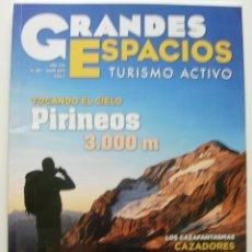 Coleccionismo de Revistas y Periódicos: REVISTA GRANDES ESPACIOS. REVISTA DE TURISMO ACTIVO. Nº 189 JUN. 2013. Lote 125207779