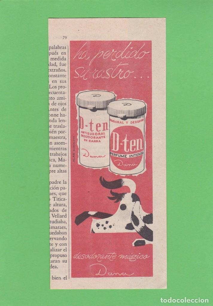 Publicidad 1960 Anuncio Desodorante D Ten Dan Kaufen Andere