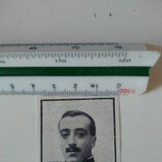 Coleccionismo de Revistas y Periódicos: RECORTE REVISTA ORIGINAL ANTIGUO. SALVADOR REQUEJO, TENIENTE INFANTERIA HERIDO. Lote 125277139