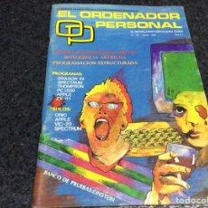 Coleccionismo de Revistas y Periódicos: REVISTA - OP ORDENADOR PERSONAL Nº 18 AMSTRAD, MSX, SPECTRUM INFORMATICA AÑOS 80. Lote 125316059