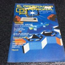 Coleccionismo de Revistas y Periódicos: REVISTA - OP ORDENADOR PERSONAL Nº 43 AMSTRAD, MSX, SPECTRUM INFORMATICA AÑOS 80. Lote 125316127