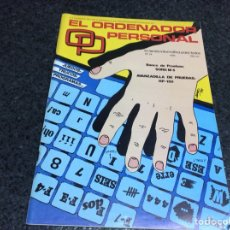 Coleccionismo de Revistas y Periódicos: REVISTA - OP ORDENADOR PERSONAL Nº 24 AMSTRAD, MSX, SPECTRUM INFORMATICA AÑOS 80. Lote 125316371