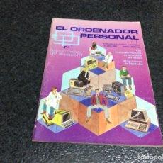 Coleccionismo de Revistas y Periódicos: REVISTA - OP ORDENADOR PERSONAL Nº 1 AMSTRAD, MSX, SPECTRUM INFORMATICA AÑOS 80. Lote 125316411