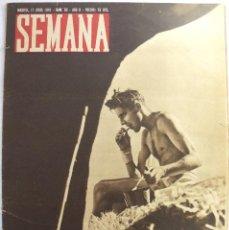 Coleccionismo de Revistas y Periódicos: REVISTA SEMANA 17 JUNIO 1941 - NUM 69 - AÑO II. Lote 125332407