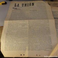 Coleccionismo de Revistas y Periódicos: JAEN, 1899, PERIODICO LA UNION Nº57. 28 DE FEBRERO, 4 PAGINAS. Lote 125383619