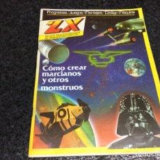 Coleccionismo de Revistas y Periódicos: REVISTA ZX Nº 11 USUARIOS ORDENADORES SINCLAR, COMO CREAR MARCIANOS Y MONSTRU AMSTRAD, MSX, SPECTRUM. Lote 125421991
