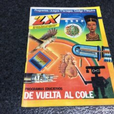 Coleccionismo de Revistas y Periódicos: REVISTA ZX Nº 10 USUARIOS ORDENADORES SINCLAR, AMSTRAD, MSX, SPECTRUM. Lote 125422099