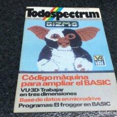 Coleccionismo de Revistas y Periódicos: REVISTA TODOSPECTRUM Nº3 REVISTA DE INFORMÁTICA AÑOS 80 - SPECTRUM. Lote 125427167
