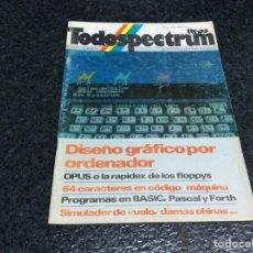 Coleccionismo de Revistas y Periódicos: REVISTA TODOSPECTRUM Nº 5 REVISTA DE INFORMÁTICA AÑOS 80 - SPECTRUM. Lote 125427051