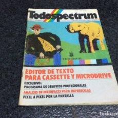 Coleccionismo de Revistas y Periódicos: REVISTA TODOSPECTRUM Nº 2 REVISTA DE INFORMÁTICA AÑOS 80 - SPECTRUM. Lote 125427091