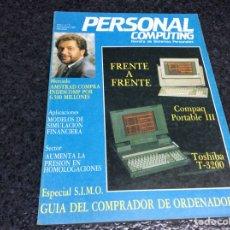 Coleccionismo de Revistas y Periódicos: REVISTA PERSONAL COMPUTING Nº 3 AMSTRAD, MSX, SPECTRUM - REVISTA DE INFORMÁTICA AÑOS 80. Lote 125436055