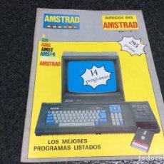 Coleccionismo de Revistas y Periódicos: REVISTA AMSTRAD ESPAÑA AMIGOS DEL AMSTRAD Nº 1 REVISTA DE INFORMÁTICA AÑOS 80. Lote 125437075