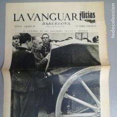Collectionnisme de Revues et Journaux: PERIÓDICO LA VANGUARDIA 1 DE AGOSTO DE 1936 GUERRA CIVIL ESPAÑOLA. Lote 125649023