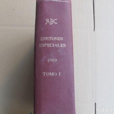 Coleccionismo de Revistas y Periódicos: ABC EDICIONES ESPECIALES 1969 TOMO I. Lote 125676283