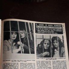 Coleccionismo de Revistas y Periódicos: MARIA SCHNEIDER. Lote 125810459