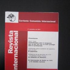 Coleccionismo de Revistas y Periódicos: REVISTA INTERNACIONAL Nº 157 - 2016. Lote 125829331