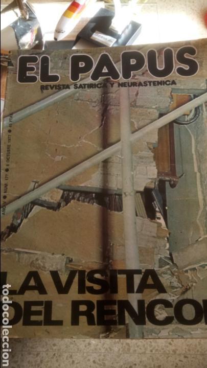 REVISTA EL PAPUS. ATENTADO 1977. (Coleccionismo - Revistas y Periódicos Modernos (a partir de 1.940) - Otros)