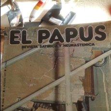 Coleccionismo de Revistas y Periódicos: REVISTA EL PAPUS. ATENTADO 1977.. Lote 125876863
