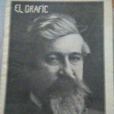 Coleccionismo de Revistas y Periódicos: EL GRAFIC - AÑO I - Nº 3 - EN CATALÁN - AÑO 1908. SANTIAGO RUSIÑOL. Lote 125882907