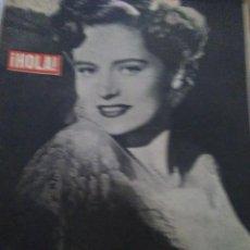 Coleccionismo de Revistas y Periódicos: ¡HOLA!- SEMANARIO GRÁFICO 1948 ALEXIS SMITH. Lote 125888539