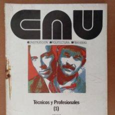 Coleccionismo de Revistas y Periódicos: REVISTA CAU Nº 35 TECNICOS Y PROFESIONALES (1) 1976 CONSTRUCCION ARQUITECTURA URBANISMO. Lote 125899539
