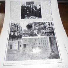 Coleccionismo de Revistas y Periódicos: RECORTE PRENSA : INCENDIO DEL TEATRO PRINCIPAL DE BARCELONA. BLANCO Y NEGRO, NOVBRE 1915. Lote 125944243