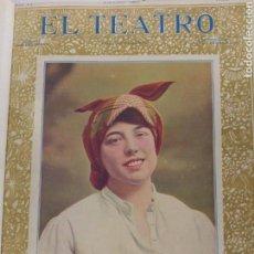 Coleccionismo de Revistas y Periódicos: REVISTA EL TEATRO 1901-1905 ENCUADERNADA.. Lote 126009407