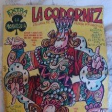 Coleccionismo de Revistas y Periódicos: LA CODORNIZ. EXTRA MONARQUÍA. N.1362. 24 DIC. 1967. Lote 126147646